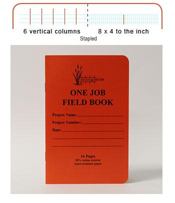 One Job Field book