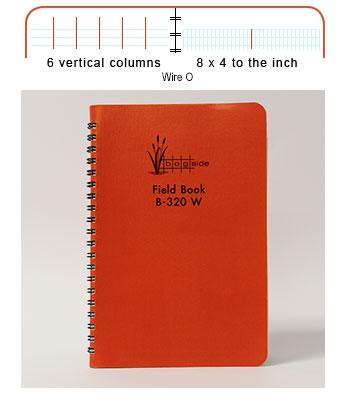 Wire Bound Field Book